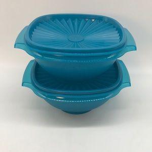 Tupperware Servalier  Bowl Set of 2
